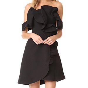NWT Keepsake Messages Black Mini Dress